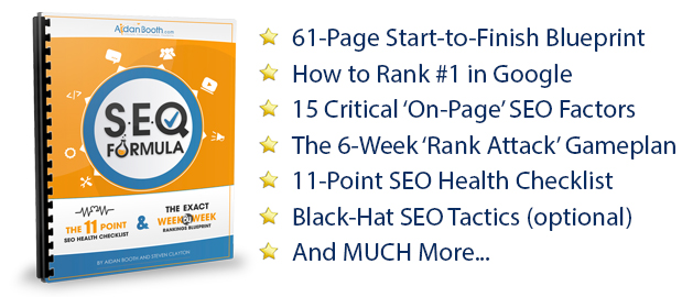 Seo formula ranking plan download part 2 of the seo formula now malvernweather Images