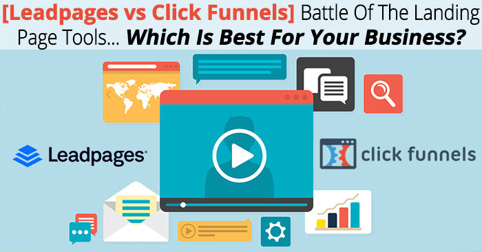 leadpages vs click funnels full review \u0026 recomendationand specifically opt in pages and lead generation, there are two big tools that stand out above the rest, leadpages and click funnels