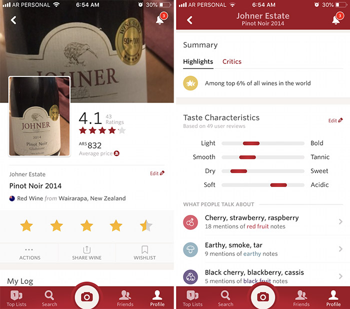 Vivino-collage