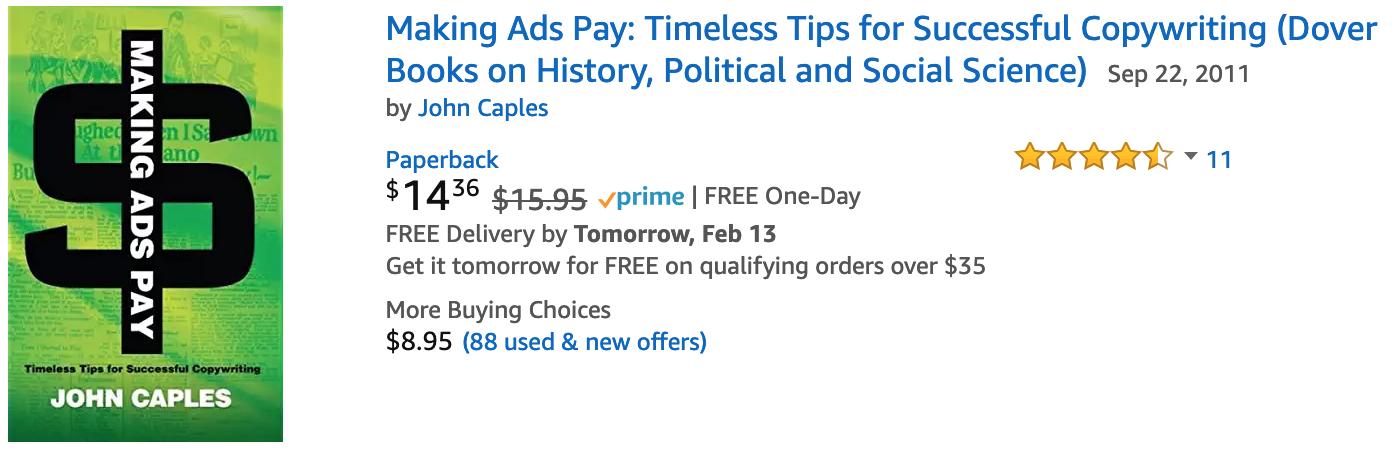 Making Ads Pay