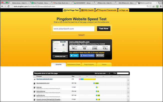 SpeedTest-OldSite-1