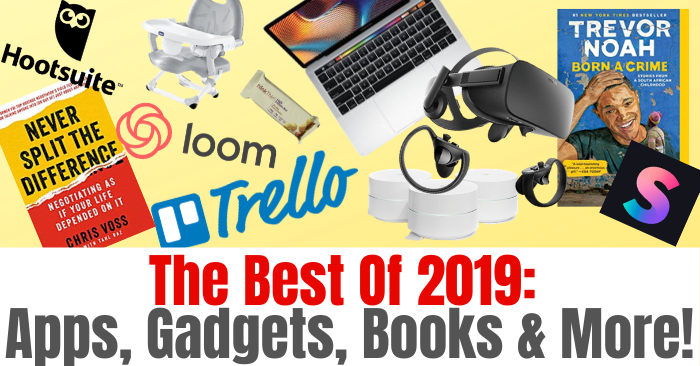 The Best Of 2019_ Apps, Gadgets, Books & More! (2)